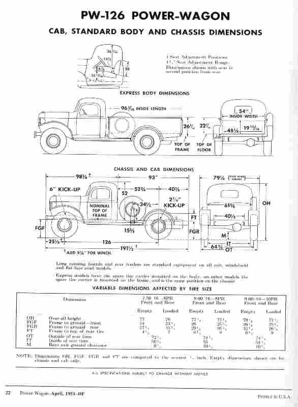 S L besides Fordor Sedan together with  as well Chassis Dim besides Torklift D Installed Detail. on dodge truck frame dimensions